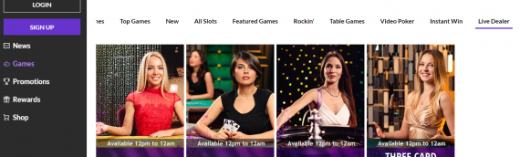 Hard Rock AC Launches Live Dealer Games
