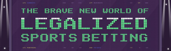 The Brave New World of Legalized Sports Betting [Infographic]