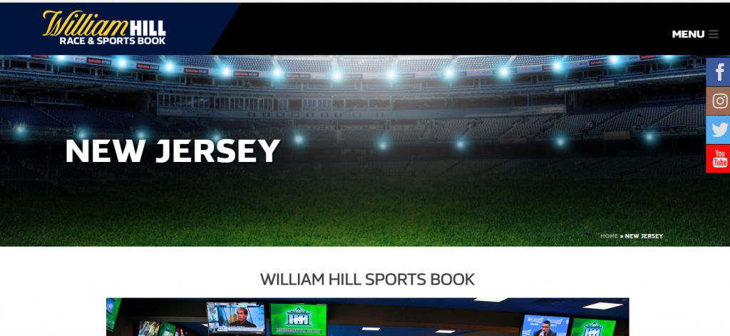 William Hill NJ sports betting - bonuses