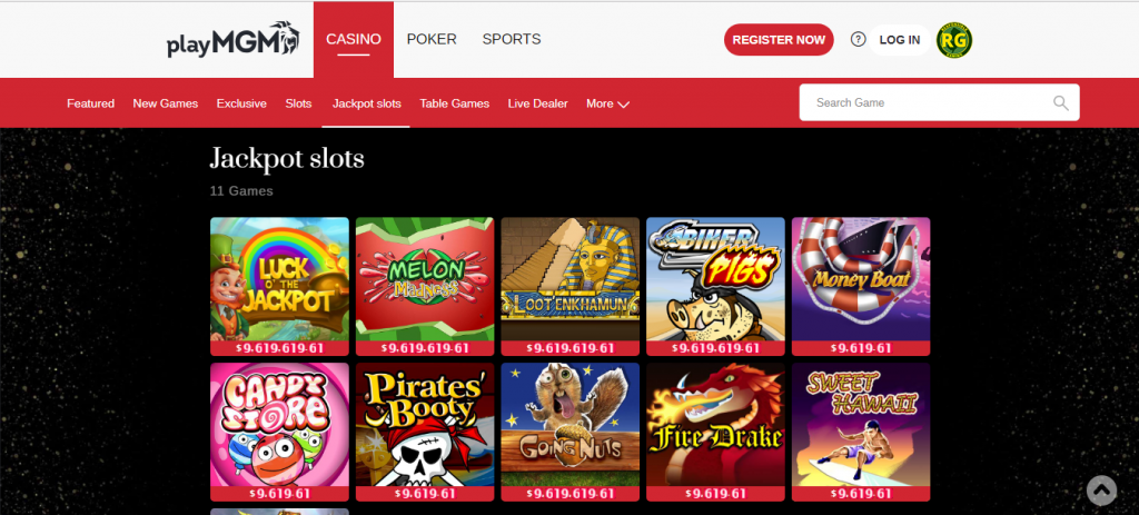 mgm online casino review - bonuses