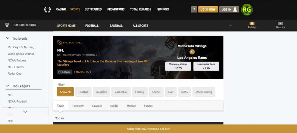 caesars online casino review - bonuses