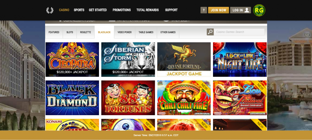caesars online casino review - ease of use