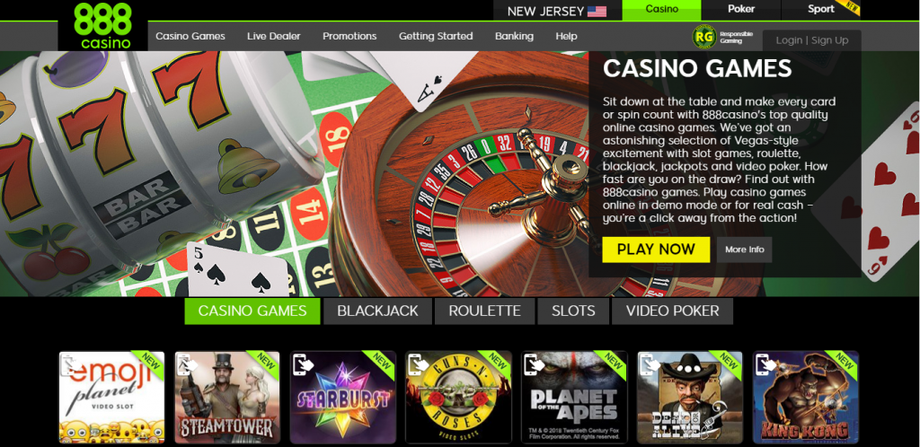 888 casino nj review - ease of use