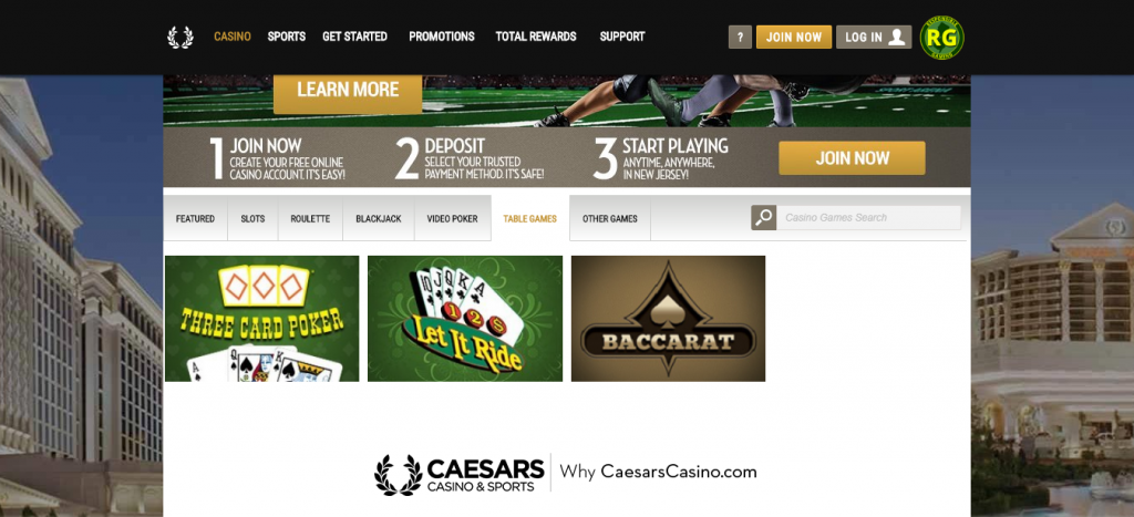 caesars online casino review - customer support