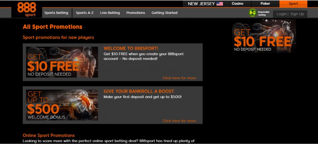 customer support - 888 sportsbook NJ