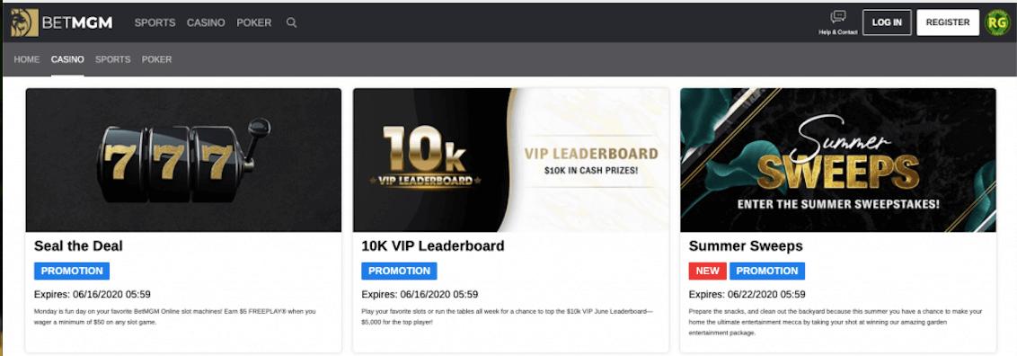 betmgm bonuses and promotions