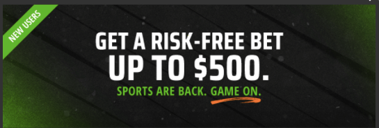 draftkings risk free bet