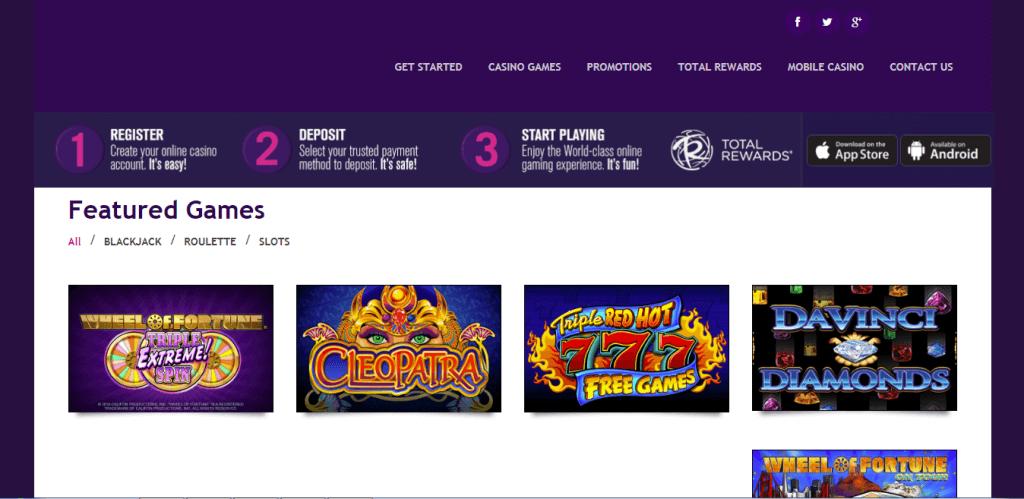 harrah online casino review