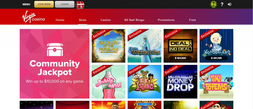 virgin online casino review - bonus