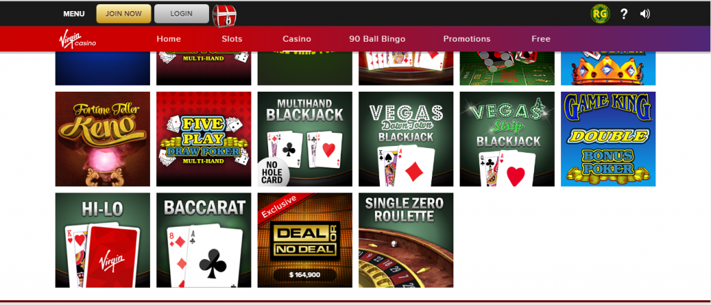 virgin online casino review - customer support