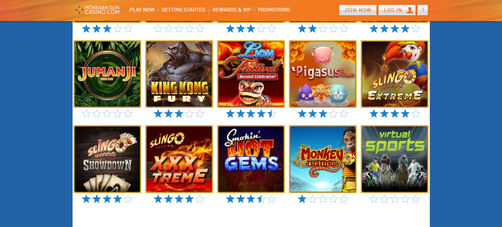 Mohegan Sun Online Casino Review Expets Reviewed Njgamesorg