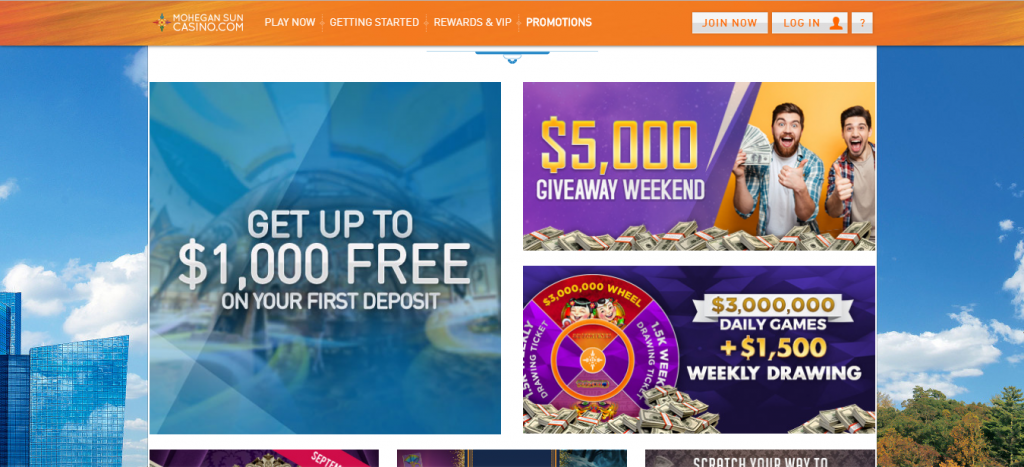 mohegan sun online casino review - ease of use