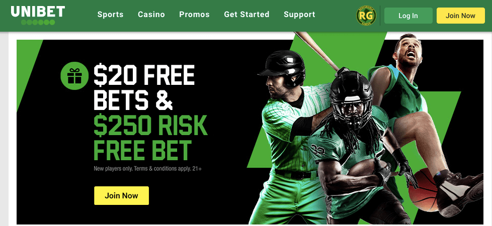unibet review - new player offer